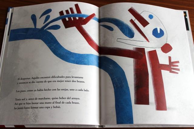 Beispielseite3-Aquiles el puntito-Kalandraka-Guia Risari