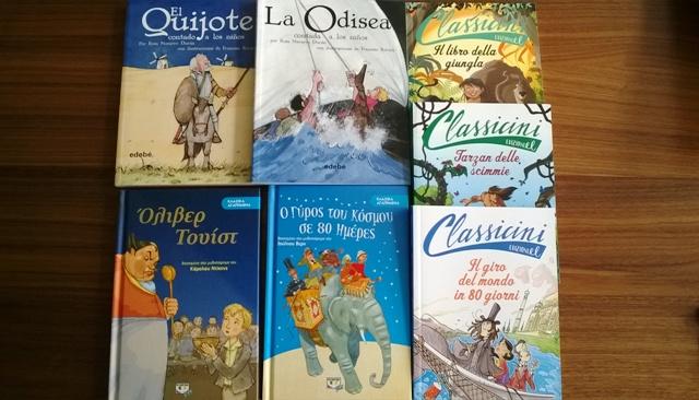 Klassiker für Kinder in der Muttersprache - Empfehlungen von Bibliomagia