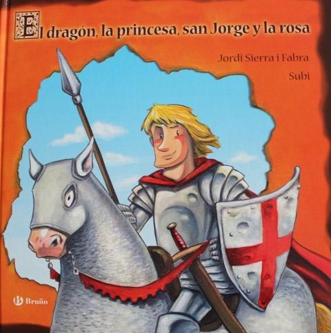 Cover-El dragón, la princesa, san Jorge y la rosa
